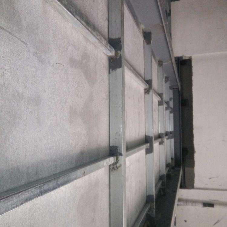 纤维水泥板的安装