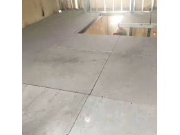 LOFT高强度水泥楼板施工方法